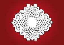 Free Ornamental Red Frame Stock Photography - 7842752
