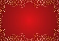 Free Red Ornament Background Stock Photos - 7842773