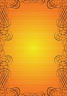 Free Ornamental Gold Frame Stock Photo - 7842790