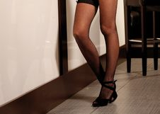 Free Woman In Stockings Stock Images - 7842804