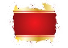 Free Grungy Red Frame Royalty Free Stock Image - 7842956