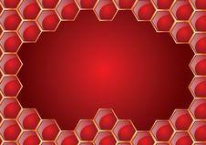 Free Honeycomb Frame Royalty Free Stock Image - 7843086