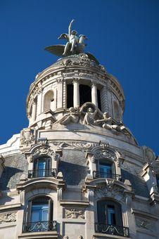 Free Big Cupola In Barcelona Stock Image - 7843141