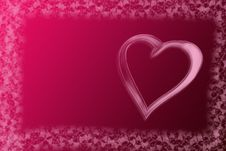 Free Abstract Valentine Background Royalty Free Stock Image - 7843316