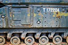 Second World War Tank Royalty Free Stock Photography