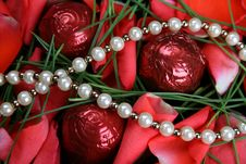 Free Valentines Day Pearls Royalty Free Stock Photo - 7844475