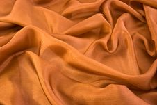 Brown Aglint Silk Royalty Free Stock Photo