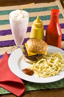 Free Fast Food Stock Photo - 7846140