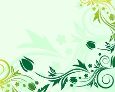 Free Floral Background Royalty Free Stock Photos - 7846418