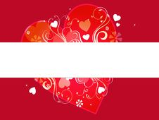 Free Valentine Banner Royalty Free Stock Photography - 7846557