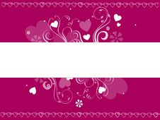 Free Valentine Banner Royalty Free Stock Photo - 7846575