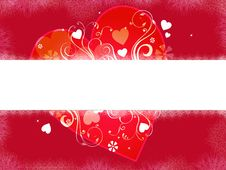 Free Heart Banner Royalty Free Stock Image - 7846756