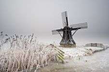 Free Windmill Landscape Stock Photo - 7847060