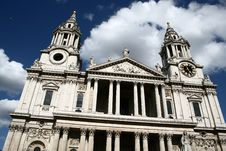 Free St Paul S Cathedral In London Royalty Free Stock Photo - 7847075