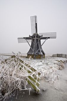 Free Windmill Landscape Stock Image - 7847091