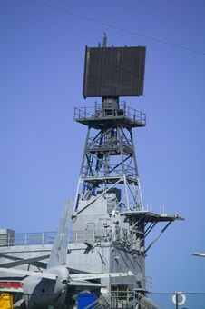 Free Aircraft Carrier Radar Royalty Free Stock Images - 7847319