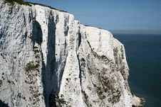 Free White Cliff Of Dover Royalty Free Stock Photography - 7847357