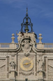 Free Palacio Real, Madrid. Fragment Of The Building. Royalty Free Stock Images - 7847399