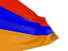 Free Motion Blur 3D Armenian Flag Stock Photo - 7847420