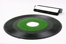Free Green Record And Vinyl Brush Royalty Free Stock Photo - 7848185