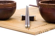 Wooden Bowl Royalty Free Stock Images