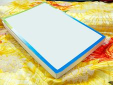 Free Blank Book On Colorful Sheets Royalty Free Stock Photo - 7848405