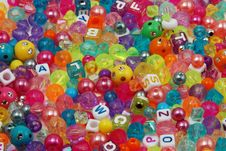 Free Colorful Beads Royalty Free Stock Photos - 7849488