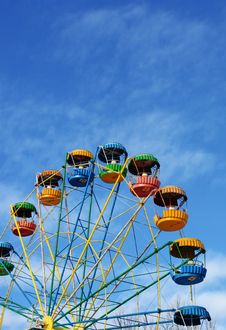 Free A Ferris Wheel Royalty Free Stock Photos - 7849648