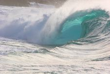 Free Waimea Shore Break Stock Photography - 7849842