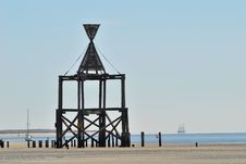 Free Wangerooge Beacon Royalty Free Stock Image - 7849896