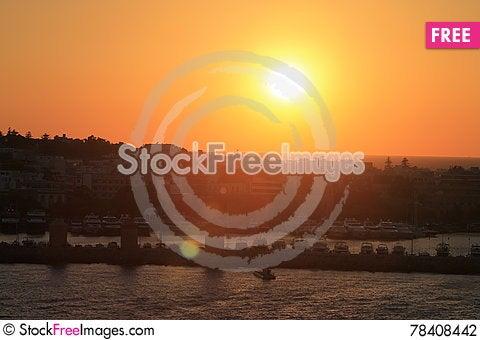 Free Greek Island Rhodes Stock Photography - 78408442