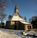 Free Winter Church Royalty Free Stock Image - 7853526