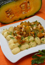 Free Pumpkin Goulash With Beans Royalty Free Stock Photos - 7854728