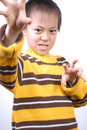 Free Asia Boy Ready To Fight Stock Photo - 7857290