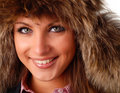 Free Woman In Fur Cap Royalty Free Stock Photography - 7858267