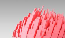 Free Abstract 3d City Royalty Free Stock Image - 7850936