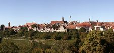 Free View Of Rothenburg Ob Der Tauber Stock Images - 7850974