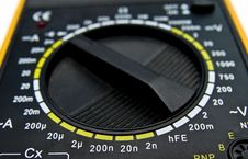 Free Multimeter Dial Royalty Free Stock Photo - 7850995