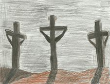 Free The Crucifixion Royalty Free Stock Image - 7850996