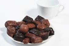 Free Assorted Chocolates Royalty Free Stock Images - 7851539