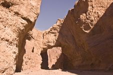 Free Natural Bridge At Death Valley Royalty Free Stock Image - 7851546