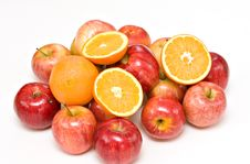Free Apples And Oranges Royalty Free Stock Images - 7852099