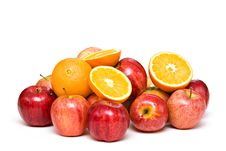 Free Oranges And Apples Stock Photos - 7852103