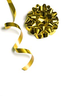 Free Ribbon For Wrapping Gifts Stock Image - 7853301