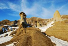 Free Hoodoos In Different Shapes Stock Photos - 7853443