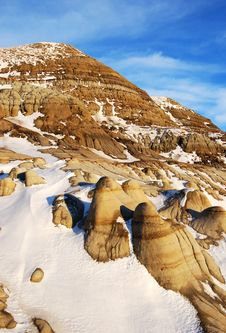 Free Hoodoos In Different Shapes Stock Photos - 7853563