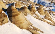 Free Hoodoos In Snow Royalty Free Stock Photos - 7853668