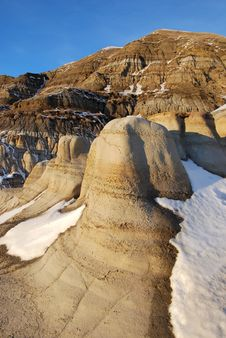 Free Hoodoos In Snow Royalty Free Stock Photo - 7853725