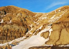 Free Hoodoos In Snow Stock Image - 7853891