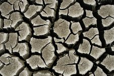Free Cracked Ground. Global Warming Concept Royalty Free Stock Photography - 7854047